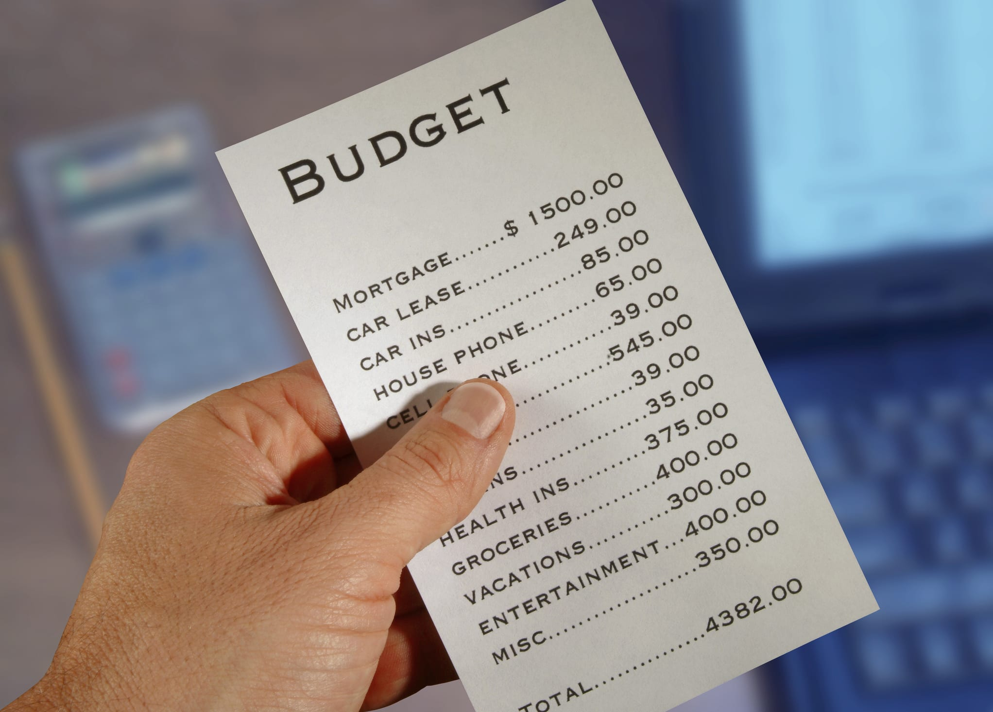 10 Ways to Create and Live on a Budget