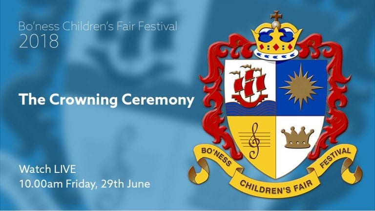 Live Coverage of Crowning Ceremony from Glebe Park