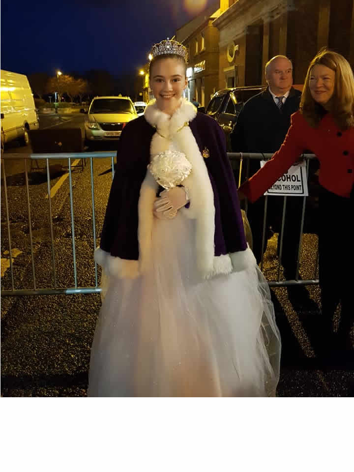 Queen Zoe Attends Christmas Light Switch On